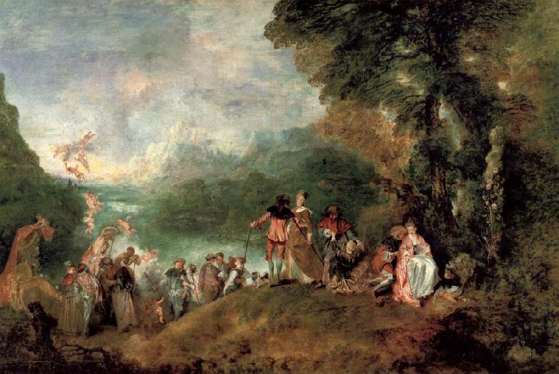pilgrimage to the island of cythera jeanantoine watteau